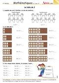 Les multiplications fiches p dagogiques math matiques for Table de multiplication en jouant