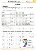 Les divisions fiches p dagogiques math matiques les for Apprendre les tables de multiplications en jouant