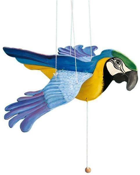 Le Perroquet Suspendu