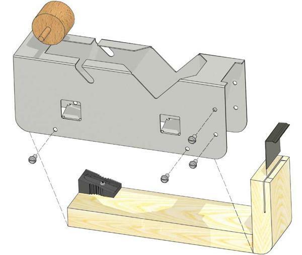 d rouleur de scotch coller sur mesure projets mise en forme du m tal. Black Bedroom Furniture Sets. Home Design Ideas