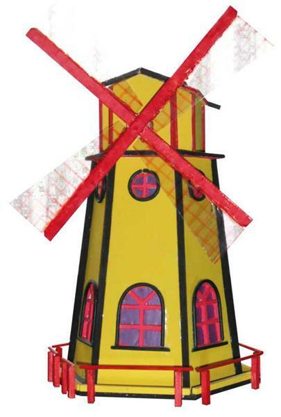 Moulin à vent solaire - Projets | Projets/Maquettes pour