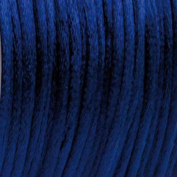 Corde de satin Ø 2 mm, bleu