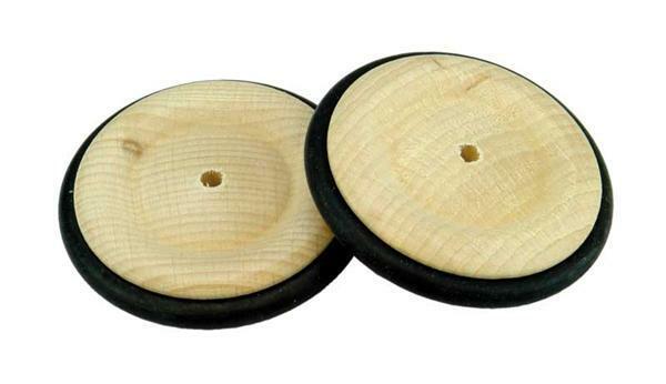 roues en bois pneu caoutchouc trou 4 mm 53 mm. Black Bedroom Furniture Sets. Home Design Ideas