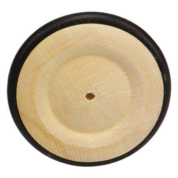 roues en bois pneu caoutchouc trou 4 mm 63 mm. Black Bedroom Furniture Sets. Home Design Ideas