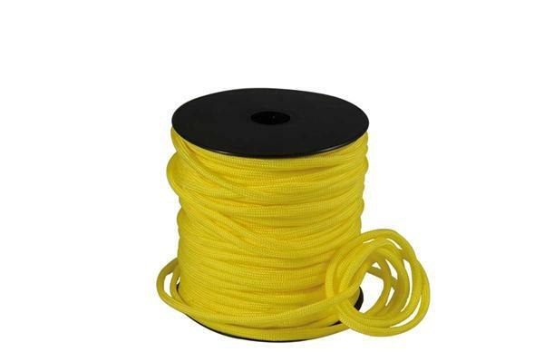 Paracorde 4 mm - 40 m, jaune