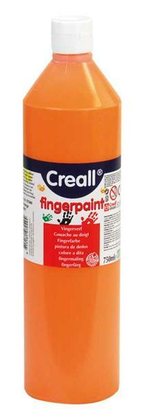 Gouache au doigt - 750 ml, orange