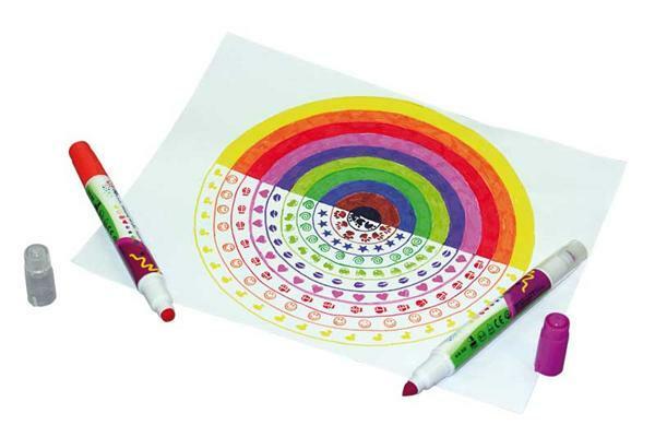 feutres tampon peindre colorier dessiner feutres pointe fibreuse. Black Bedroom Furniture Sets. Home Design Ideas
