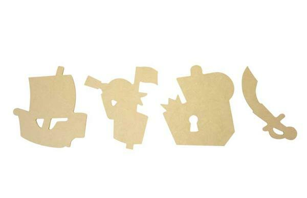 Assortiment MDF, pirates