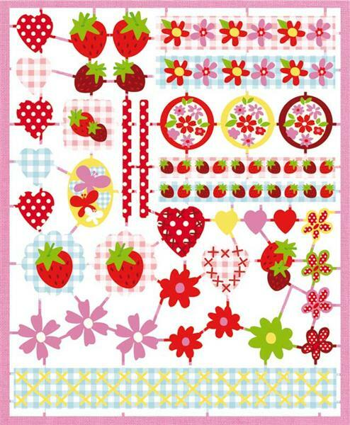 Papier à motifs - Strawberry