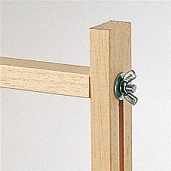 cadre de tension pour soie 100 x 100 cm tissu soie. Black Bedroom Furniture Sets. Home Design Ideas