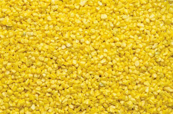 Gravier d coratif 500 g jaune cr ations plastiques for Gravier decoratif rouge