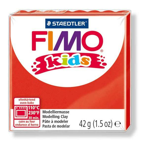 Fimo Kids - 42 g, rouge