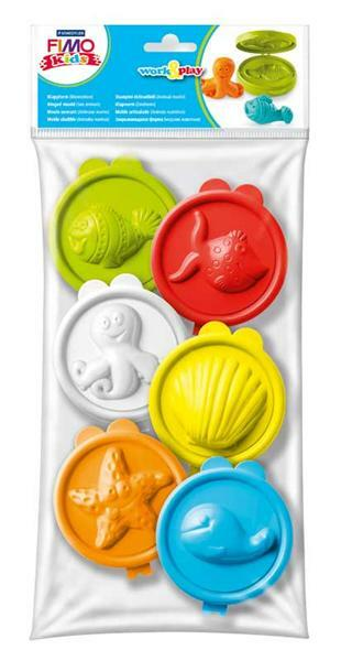 Fimo kids - moules, Animaux marins