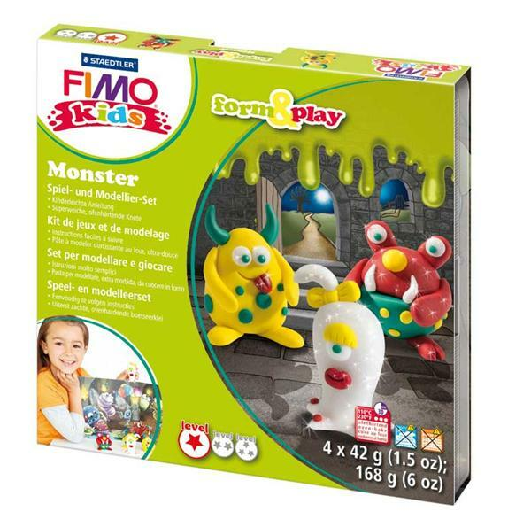 Fimo Kids - Form & Play, monstres