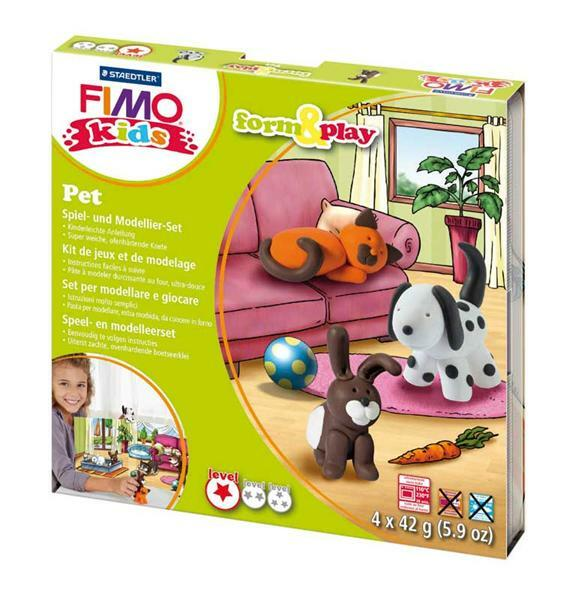 Fimo Kids - Form & Play, animaux domestiques
