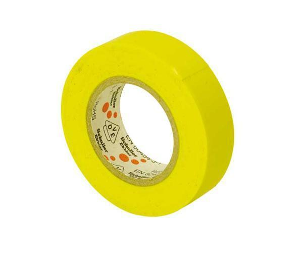 VDE toile isolante jaune Colles Rubans adhésifs