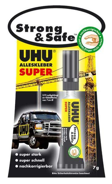 UHU colle universelle - Strong & Safe, 7 g