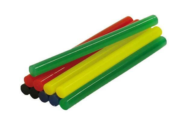 B tons de colle multicolore 7 2 mm 10 pces colles pistolets colle - Baton de colle pour pistolet ...