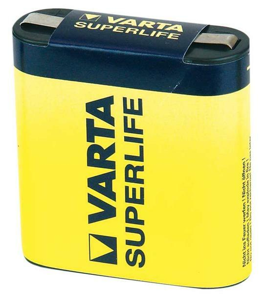 Varta 4,5 V - pile plate Superlife