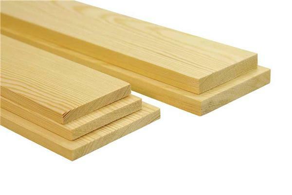 Planche en pin 300 mm 1 5 x 10 cm d coupes sur mesure for Planche bois sur mesure