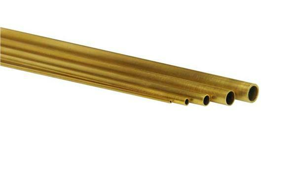 tube en laiton long env 50 cm 2 x 0 3 mm d coupes. Black Bedroom Furniture Sets. Home Design Ideas