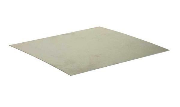 t le en fer blanc galvanis 0 55 mm 20 x 10 cm d coupes sur mesure m taux service de. Black Bedroom Furniture Sets. Home Design Ideas