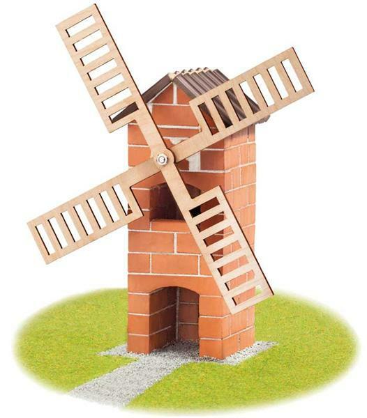 moulin vent en briques bo tes de constructions teifoc briques de contructions. Black Bedroom Furniture Sets. Home Design Ideas