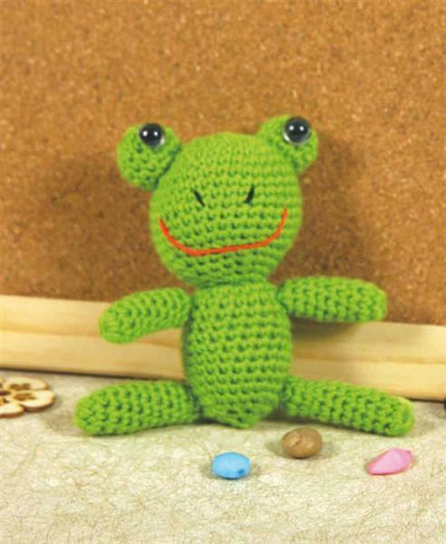 Set de crochet, grenouille