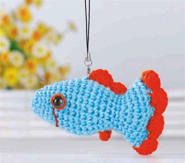 Set de crochet, poisson