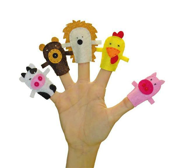 Célèbre Set de création en feutrine, poupées de doigts - Boîtes de  EF74