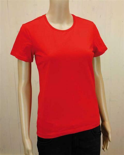 70c4e7cc812a T-shirt femme - rouge