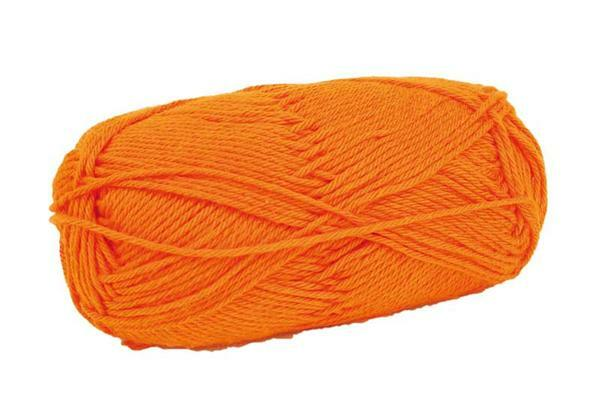 Laine Cotton Fun - 50 g, orange