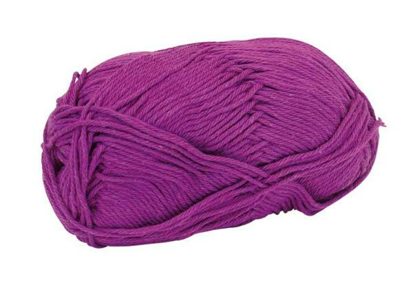 Laine Cotton Fun - 50 g, violet