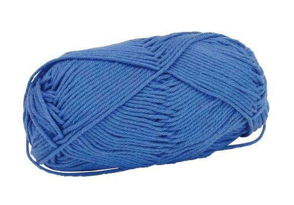 Laine Cotton Fun - 50 g, bleu