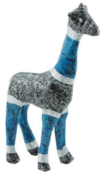animaux en papier m ch girafe 16 x 8 cm acheter en. Black Bedroom Furniture Sets. Home Design Ideas