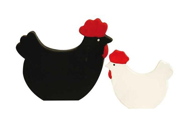 animaux en papier m ch poule 15 x 12 cm acheter en. Black Bedroom Furniture Sets. Home Design Ideas